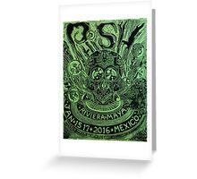 2016 Phish Riviera Maya  Greeting Card