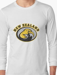 new zealand kiwi rugby player Long Sleeve T-Shirt