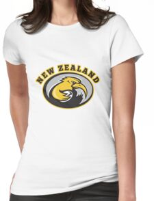 new zealand kiwi rugby player Womens Fitted T-Shirt