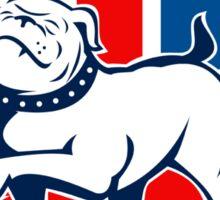 Proud English British Bulldog flag Sticker