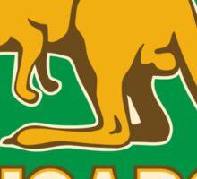 Rugby Kangaroos Australia Sticker