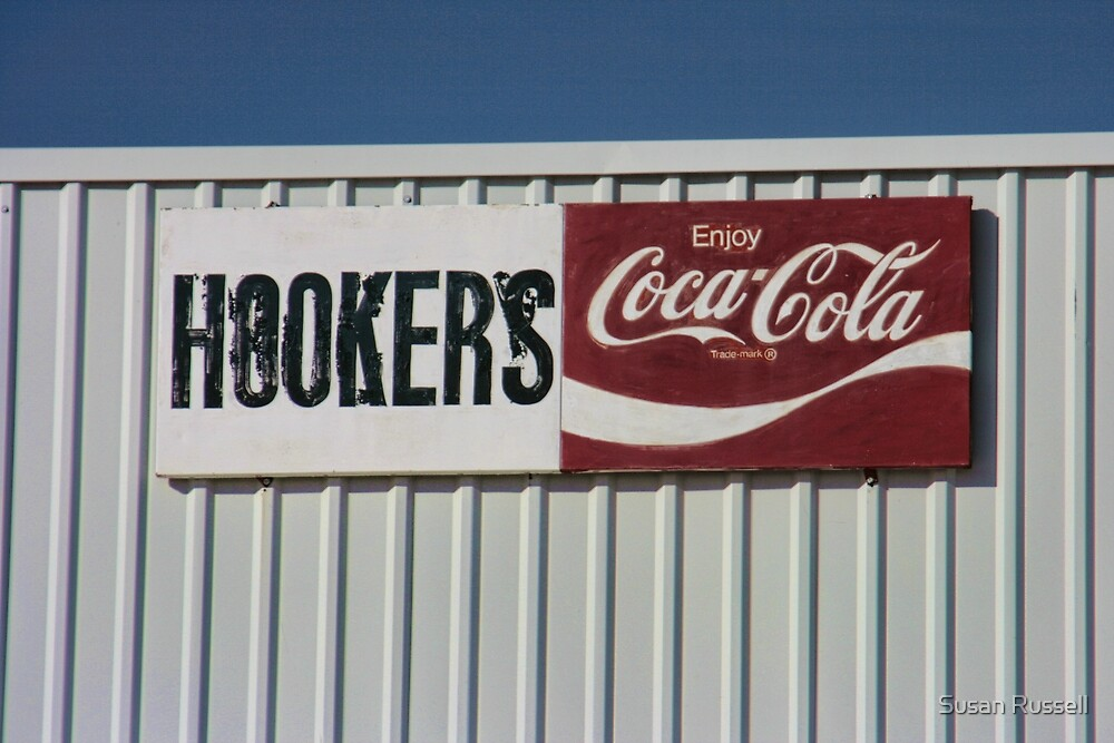 """""""Hookers"""" Is the Name of the Store by Susan Russell"""