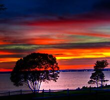 Colorful Sunset by AdzPhotos