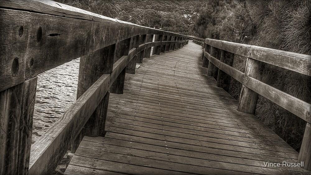 Riverside Walk by Vince Russell