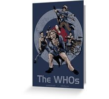 The WHOs Greeting Card