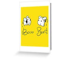 Booo Bees Greeting Card