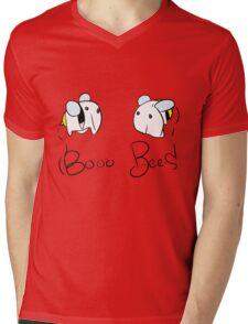 Booo Bees Mens V-Neck T-Shirt