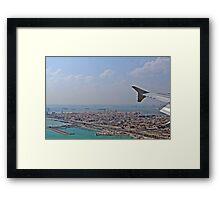 Bahrain - Ready for landing Framed Print