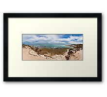 Rye Back Beach Coast, Victoria, Australia - Day Time Framed Print
