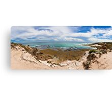 Rye Back Beach Coast, Victoria, Australia - Day Time Canvas Print