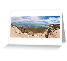 Rye Back Beach Coast, Victoria, Australia - Day Time Greeting Card