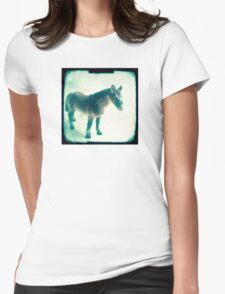 Little horse Womens Fitted T-Shirt