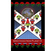 Christmas Greetings from Planet X, Aliens Photographic Print