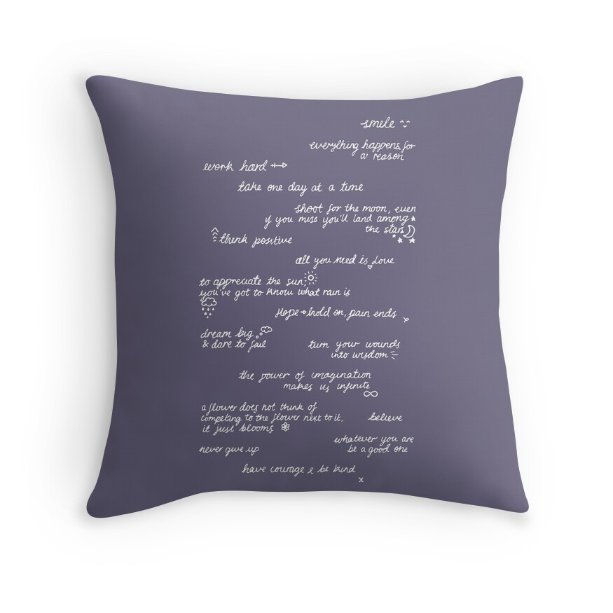 Throw Pillows Quilted :