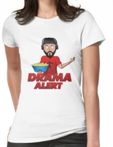 Drama Alert (Keemstar) popcorn tshirts, hoodies and more Womens Fitted T-Shirt