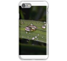 water drpoplets iPhone Case/Skin