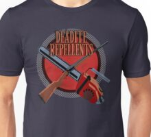 DEADITE REPELLENTS Unisex T-Shirt