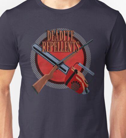 DEADITE REPELLENTS Unisex T-Shirt