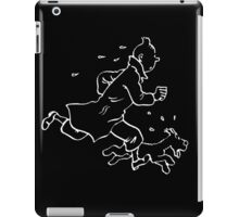 Tintin (Inverted) iPad Case/Skin
