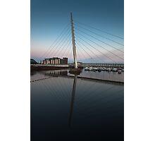 Swansea Millennium bridge  Photographic Print