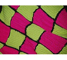 Checkered Yarn Photographic Print