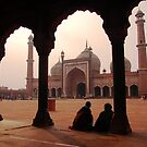 Jama Masjid, Delhi by S T