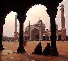 Jama Masjid, Delhi by S T