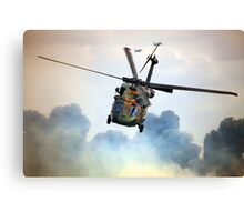 The Heat Of Battle Canvas Print