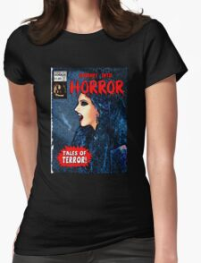 Journey into Horror Womens Fitted T-Shirt