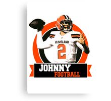 Johnny Football - Cleveland Browns Canvas Print