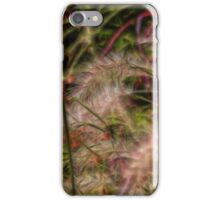 wild grasses iPhone Case/Skin