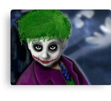 My Son as the Joker... Canvas Print