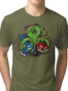 Rayquaza, Kyogre, & Groudon - Hoenn Remake Ahoy! Tri-blend T-Shirt