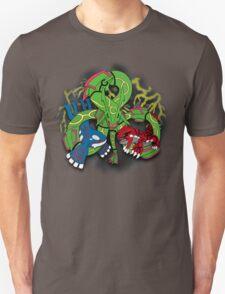 Rayquaza, Kyogre, & Groudon - Hoenn Remake Ahoy! T-Shirt
