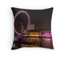 the embankment Throw Pillow