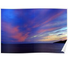 Colorful Skies Over Ballinskelligs Bay Poster
