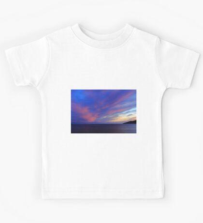 Colorful Skies Over Ballinskelligs Bay Kids Tee