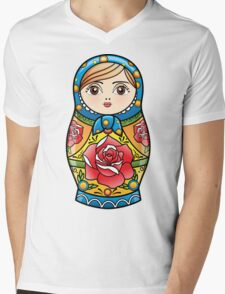 russian nesting doll Mens V-Neck T-Shirt