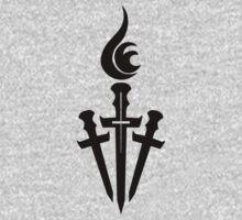 Black Celestial Torch Logo by deadgentlemen