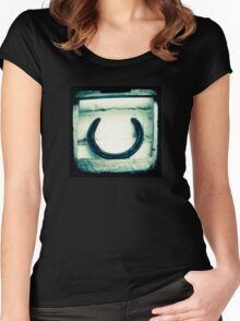 Horseshoe Women's Fitted Scoop T-Shirt