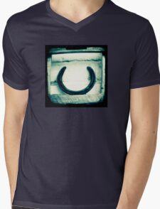 Horseshoe Mens V-Neck T-Shirt