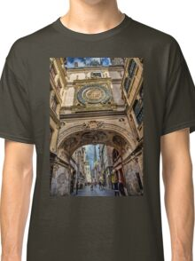 France. Normandy. Rouen. The Great Clock. Classic T-Shirt