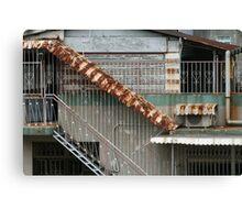 Rusty Macau Canvas Print