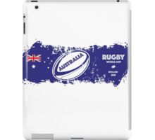 Australia Rugby World Cup Supporters iPad Case/Skin