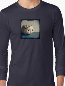 Pretty piggy - vintage china piggy bank photograph Long Sleeve T-Shirt