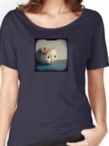 Pretty piggy - vintage china piggy bank photograph Women's Relaxed Fit T-Shirt