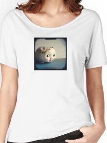 Pretty piggy - vintage china piggy bank photograph Women's Relaxed Fit T-Shirt