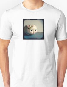 Pretty piggy - vintage china piggy bank photograph Unisex T-Shirt