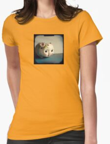 Pretty piggy - vintage china piggy bank photograph Womens Fitted T-Shirt