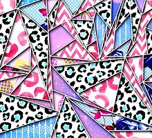 Girly Geometric Patterned Triangles by Blkstrawberry